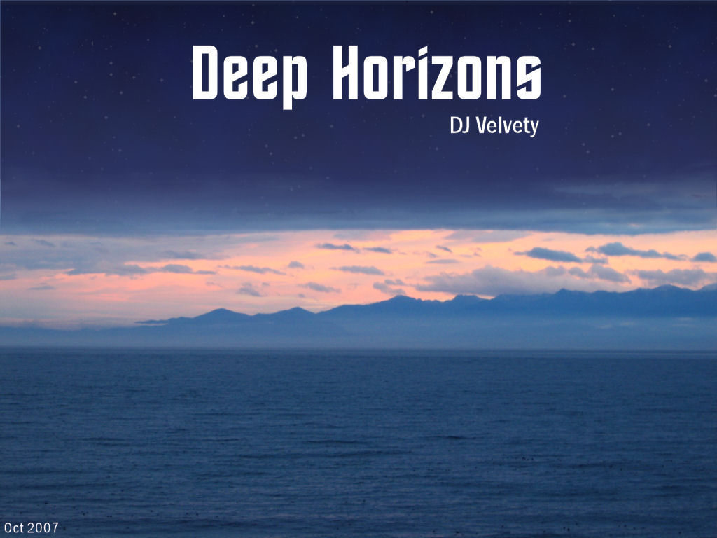 Velvety Couch - Graham Davis - DJ Velvety - Deep Horizons CD Cover