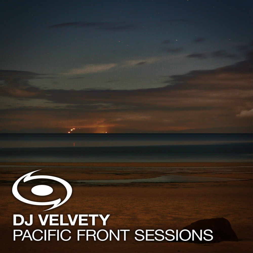 DJ Velvety - Pacific Front Sessions Guest Mix Nov 2007 Cover CD