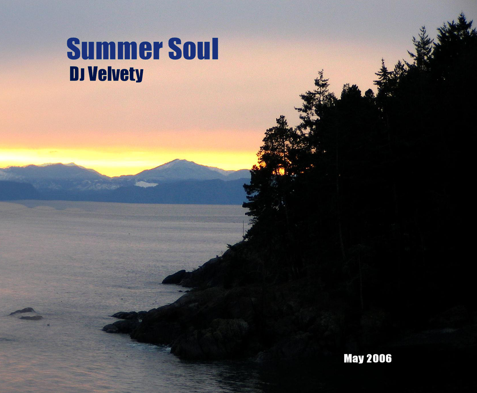 Velvety Couch - Graham Davis - DJ Velvety - Summer Soul CD Cover